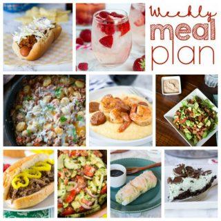 Weekly Meal Plan Week 161