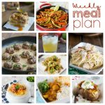 Weekly Meal Plan Week 167