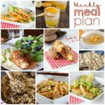 Weekly Meal Plan Week 168
