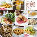 Weekly Meal Plan Week 168