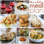 Weekly Meal Plan Week 165