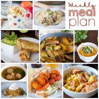 Weekly Meal Plan Week 169