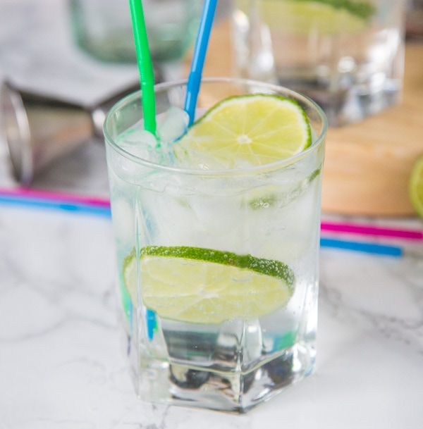 A close up of a beverage on a table