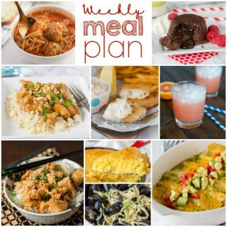 Weekly Meal Plan Week 171
