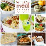 Weekly Meal Plan Week 172