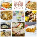 Weekly Meal Plan Week 173