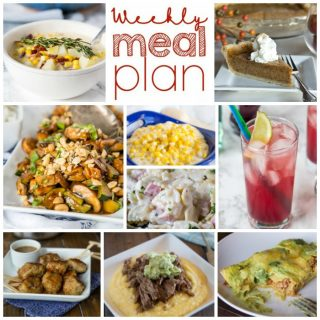 Weekly Meal Plan Week 175