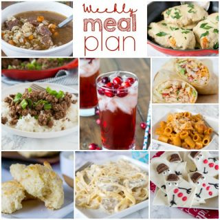 Weekly Meal Plan Week 176