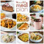 Weekly Meal Plan Week 177