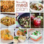 Weekly Meal Plan Week 179