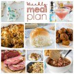 Weekly Meal Plan Week 180