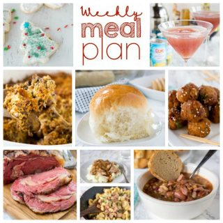 Weekly Meal Plan Week 180