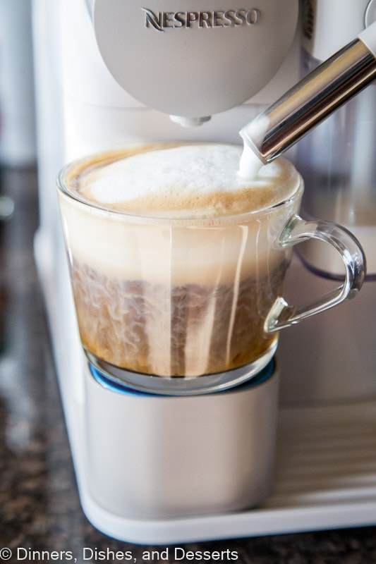 "Make your own coffee drinks at home with the De""Longhi Lattissisma One"