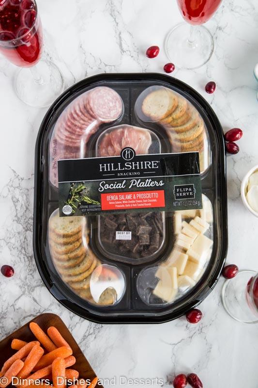 social platter from hillshire