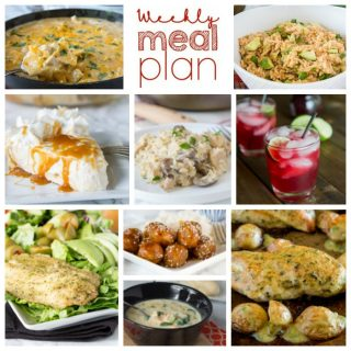 Weekly Meal Plan Week 183