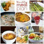 Weekly Meal Plan Week 182