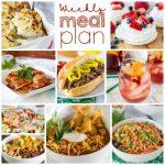 Weekly Meal Plan Week 181