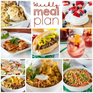 Weekly Meal Plan Week 181