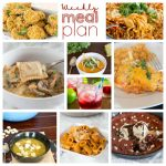 Weekly Meal Plan Week 187