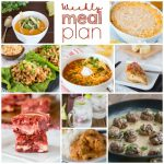 Weekly Meal Plan Week 186