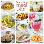 Weekly Meal Plan Week 189