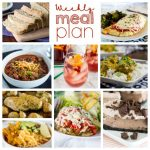Weekly Meal Plan Week 191