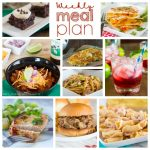 Weekly Meal Plan Week 190