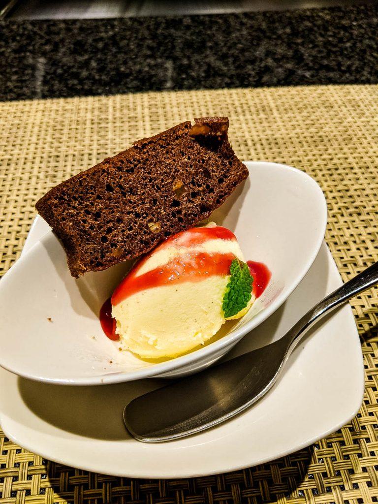 Ginza Steak dessert