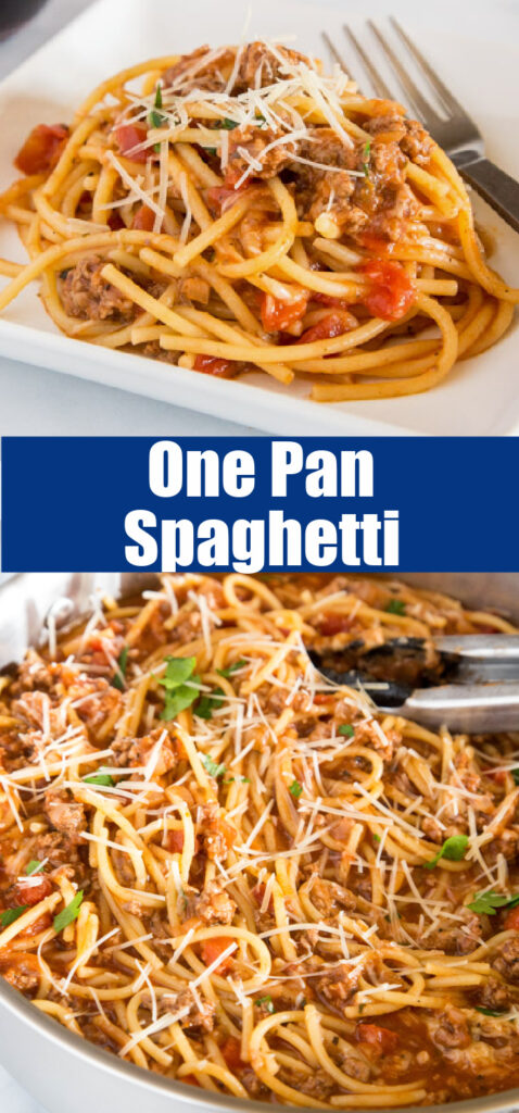 spaghetti in a pan close up