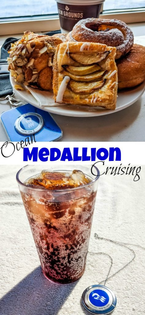 Sailing Princess Cruises with Ocean Medallion - Princess Cruises newest feature is Ocean Medallion. The fast internet at sea and so much more!
