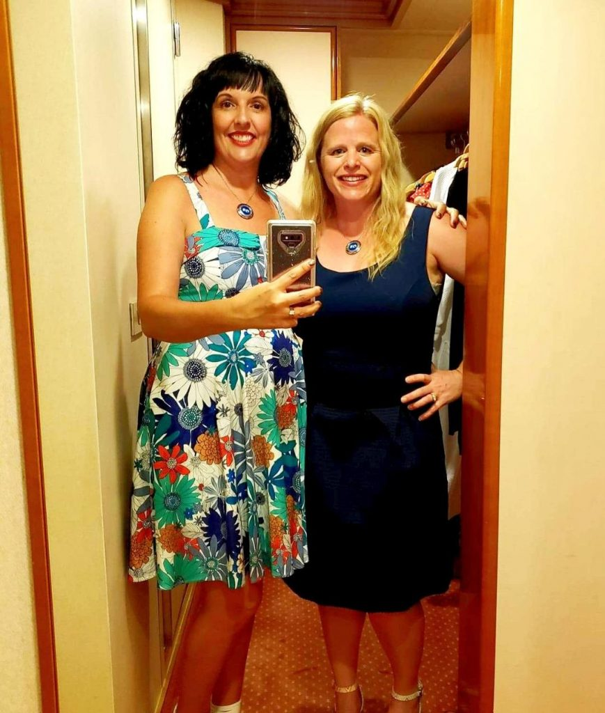 Princess Cruises formal night with ocean medallion