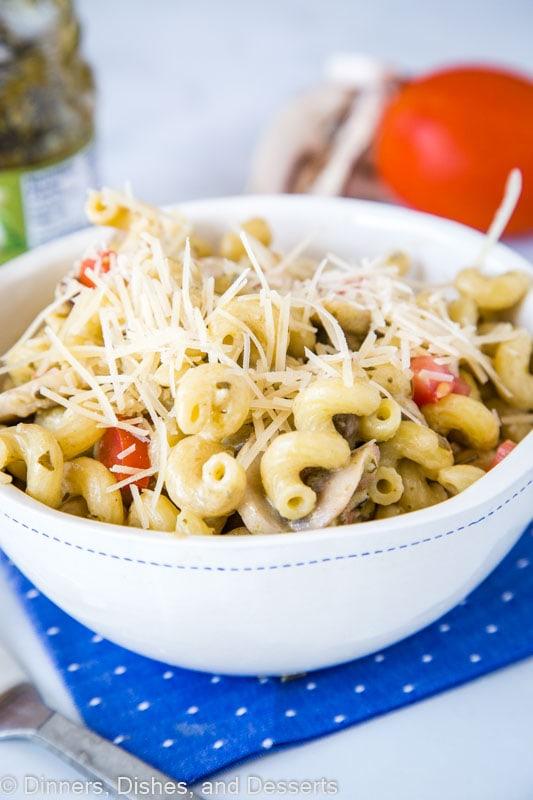 Noodles & Company Pesto Cavatappi recipe - easy to make and delicious