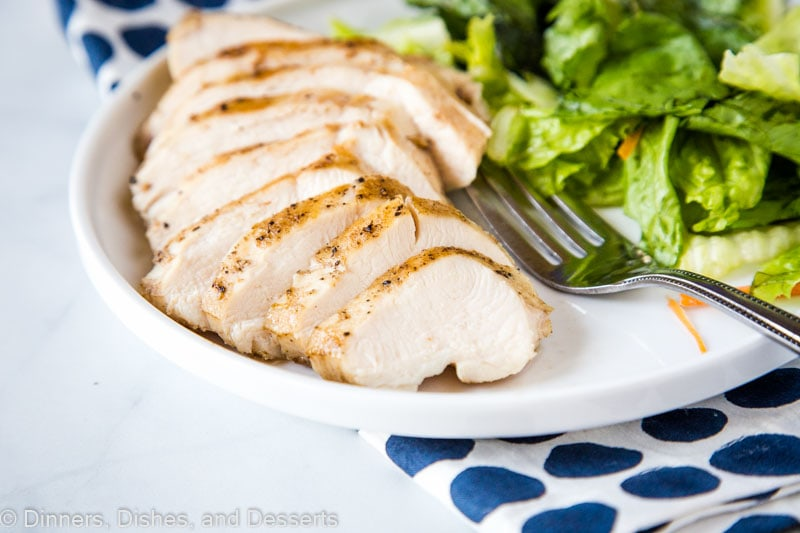 Sous vide chicken breast