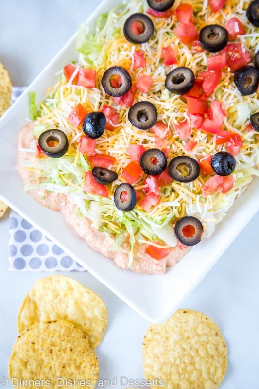 Easy taco dip recipe for your next party