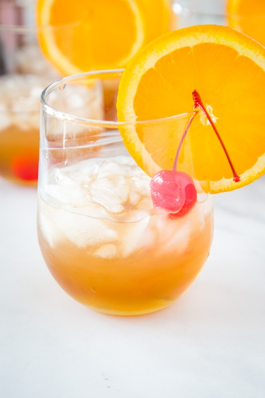 Classic amaretto sour is super simple to make with just 4 ingredients