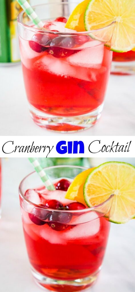Make this Gin and Cranberry for an easy drink recipe