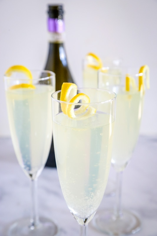 French 75 Recipe is a classic cocktail that is super easy to make