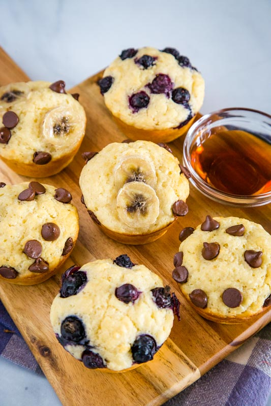 Pancake Muffins are great to have in the freezer for busy mornints
