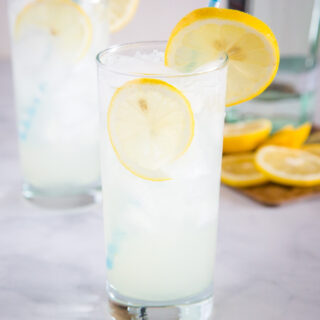 Tom Collins Cocktail - this is a classic gin cocktail that is tart, slightly sweet, and topped with club soda to make it fizzy and delicious. It is refreshing and perfect for sipping any time!