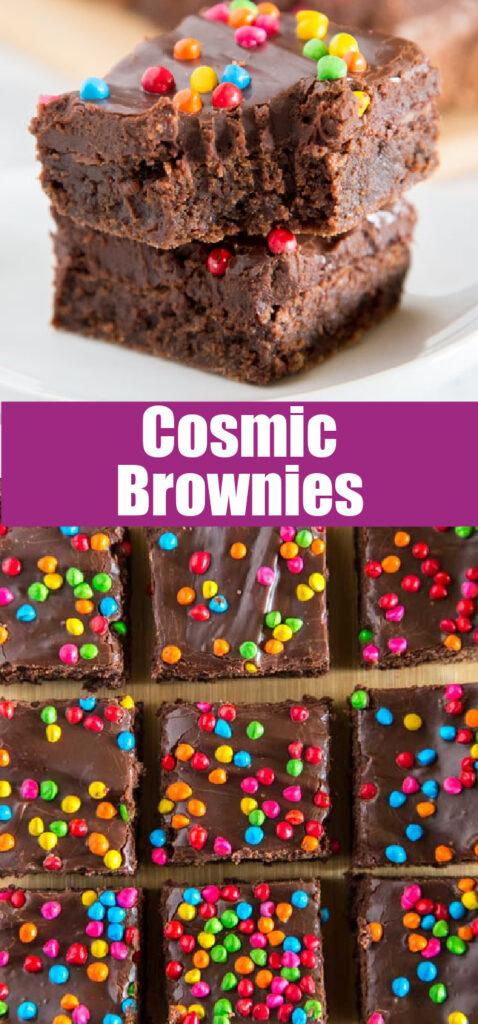 cosmic brownies pinterest collage