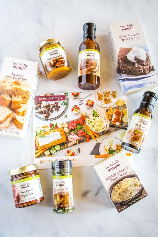 Tastefully Simple Get Together Kit Prize Pack