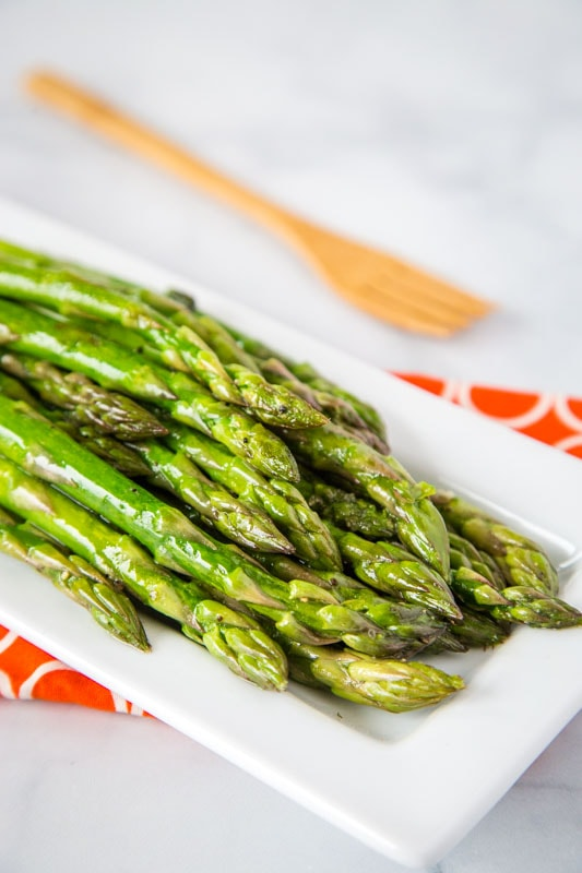 Easy sauteed asparagus for a healthy side dish