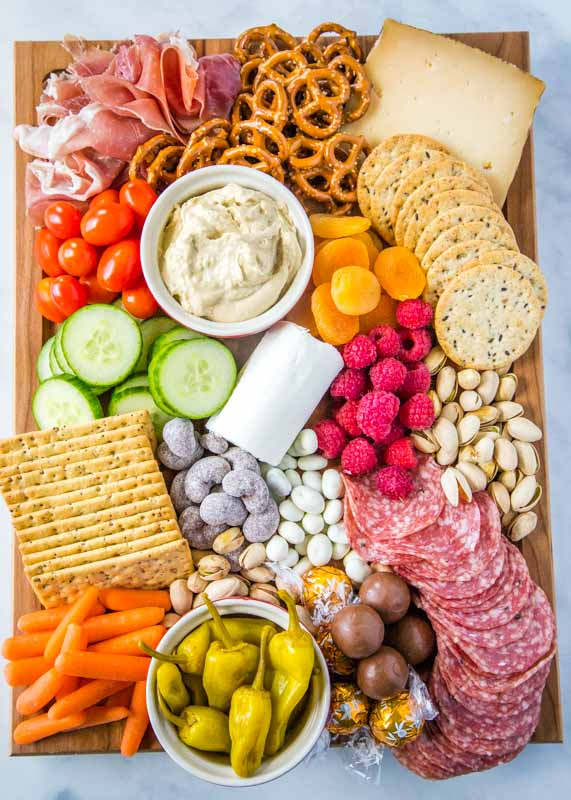 How to make a meat and cheese board for an easy snack or appetizer