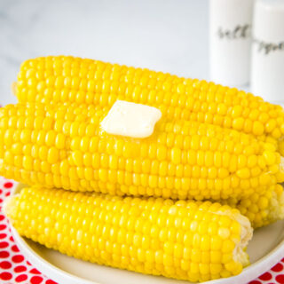 Instant Pot Corn on the Cob - an easy side dish you can make all summer long. The corn comes out juicy, tender, and perfect every time!