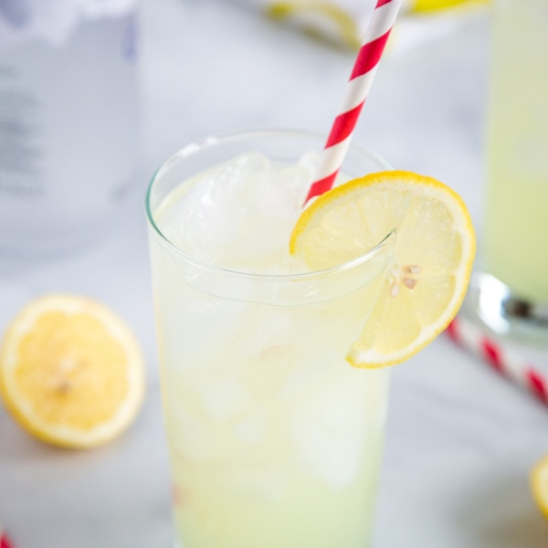 A close up of a drink
