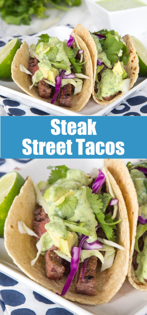 steak taco for pinterest collage