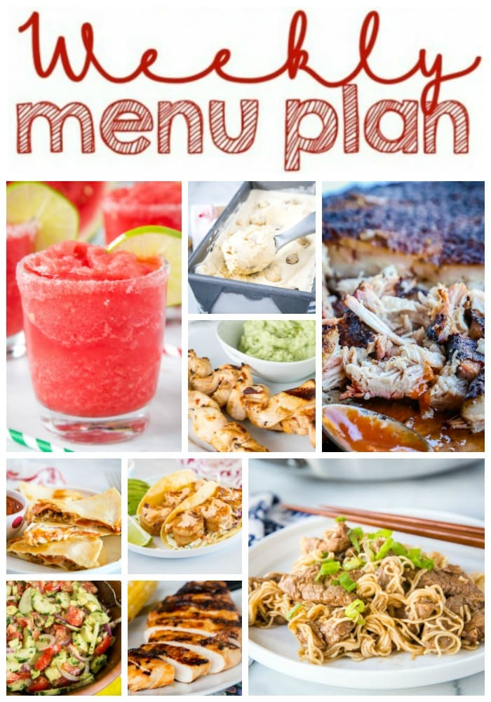 collage of dinner recipes