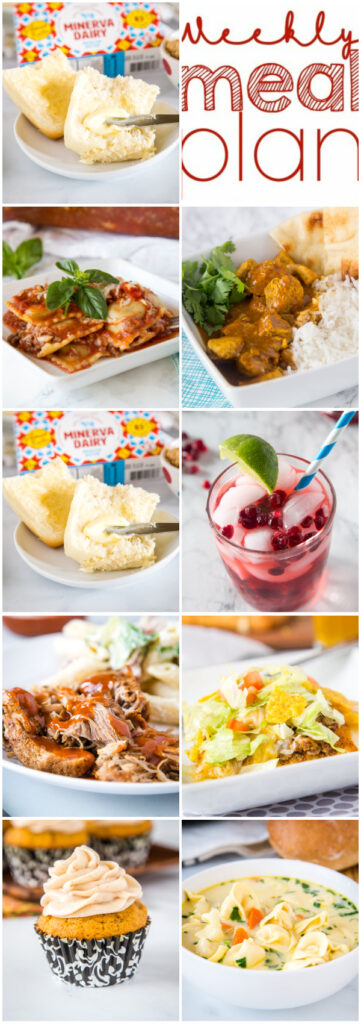 dinner ideas in collage for pinterest