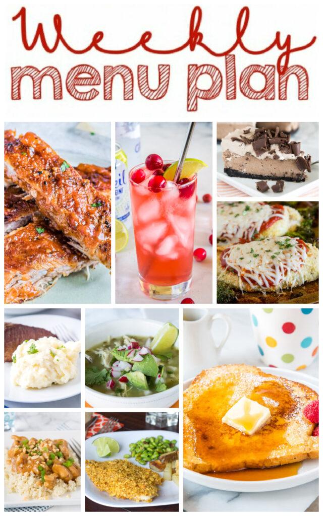 dinner ideas collage