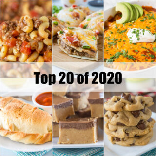 top 20 of 2020 collage